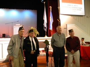 Veterans Honored At 2013 Bluegrass Fest