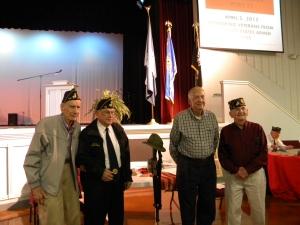 Veterans Honored At 2013 Bluegrass Fest