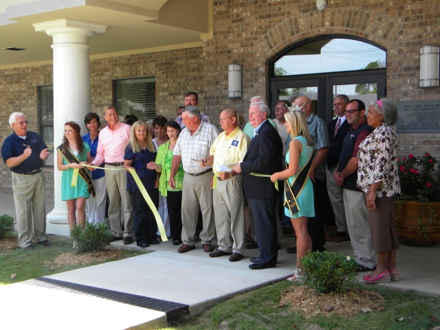 West Carroll Police Jury Ribbon Cutting