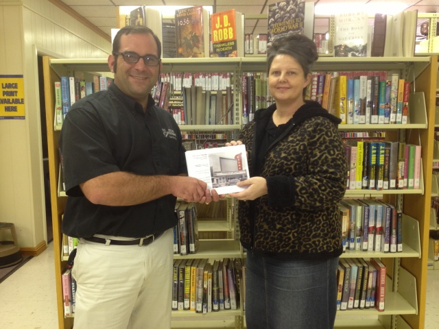 Tulane and Chamber Donate Fiske Theatre History Book to W.C. Library